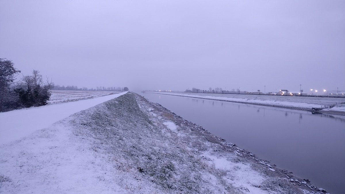 The Dee in winter